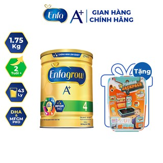 """[Mã MKBMENFA1010 giảm 7% đơn 300K] [Quà tặng vali] Sữa bột Enfagrow A+ 4 1.75kg (2 tuổi+) giá chỉ còn <strong class=""""price"""">76.900.000.000đ</strong>"""
