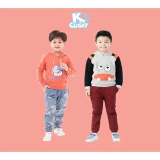 Áo Hoodie Thêu Hình Bé Trai (3-9 Tuổi) K's Closet E090TEF / K339EIF TM
