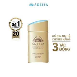 [HB GIFT] Sữa chống nắng dưỡng da bảo vệ hoàn hảo Anessa Perfect UV Sunscreen Skincare Milk 60ml thumbnail
