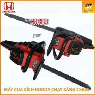Máy cưa xích chạy xăng CX68 Honda 68cc cưa gỗ ưu việt hơn husqvarna oshima yamaha _ Nhật Việt official00000