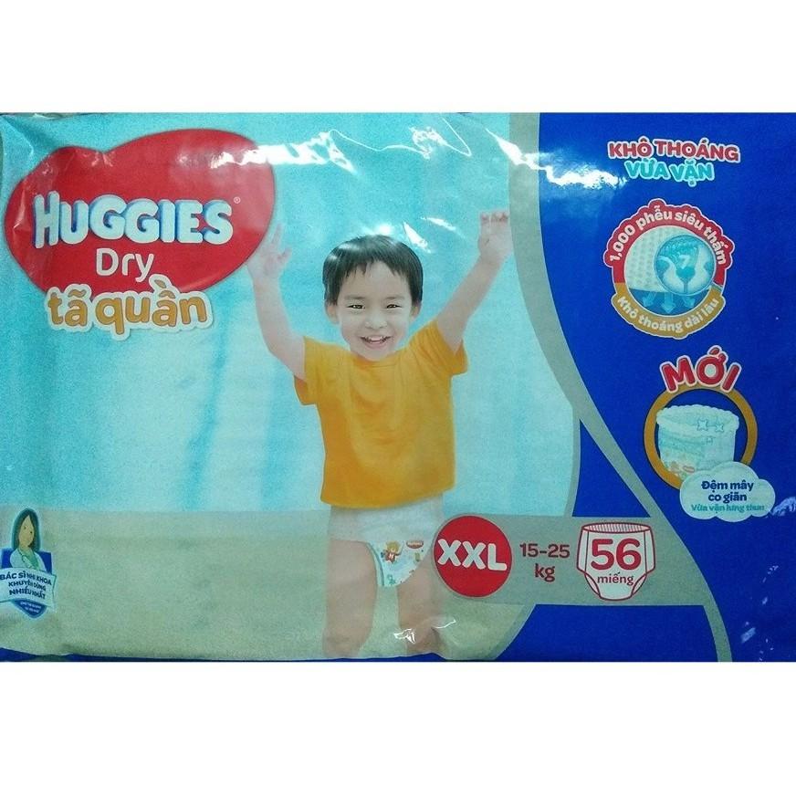 Tả quần Huggies Dry XXL56 mẫu mới