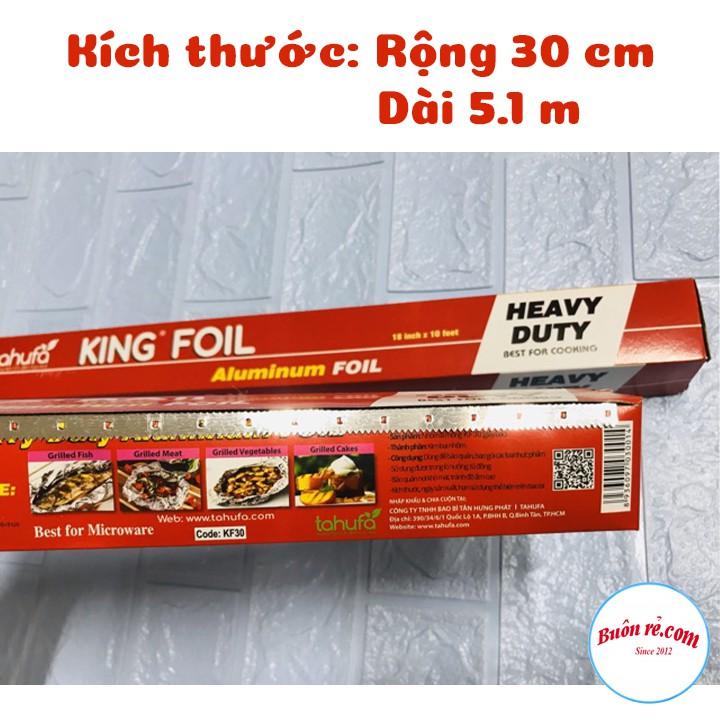 1 cuộn giấy nướng bạc KING FOIL Tahufa Tiện Dụng 00461