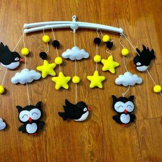 Trọn bộ chú chim đen trắng