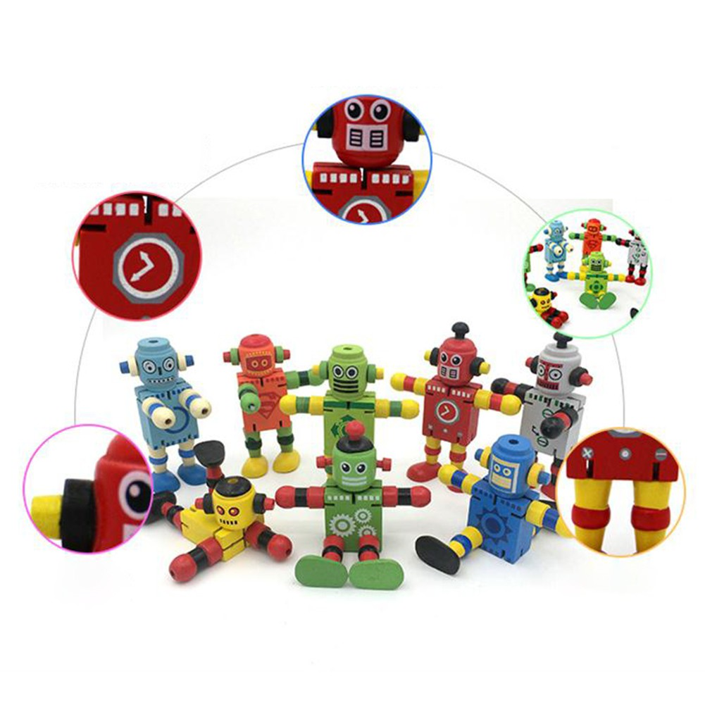 Newest Early Educational Toys Creative Personality Building Blocks Toys Wooden