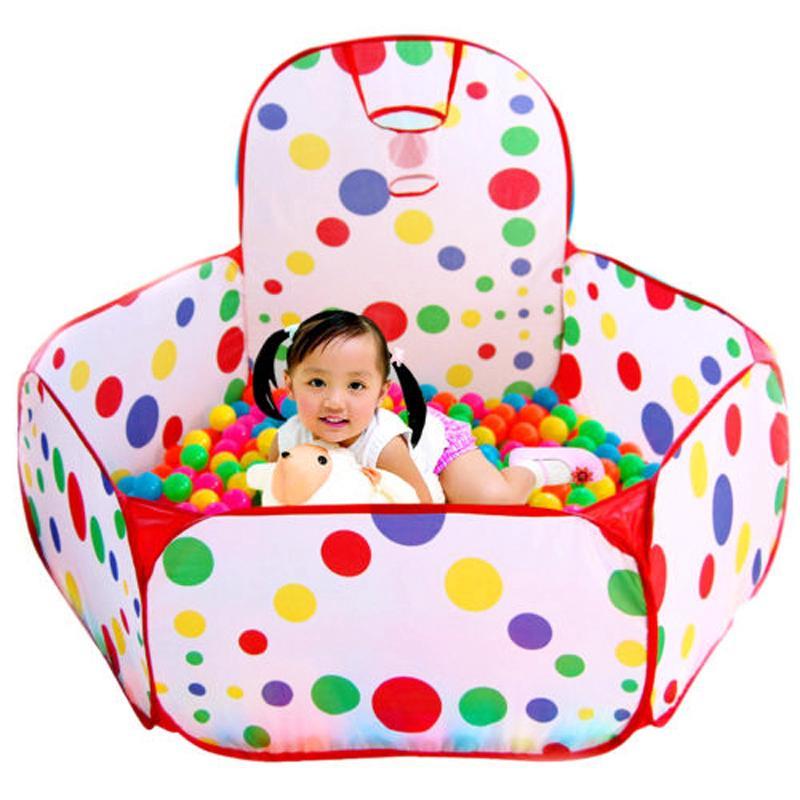 0.9m Kids Ball Pit Indoor Outdoor Baby Play Tent Ocean Balls Pool Toy