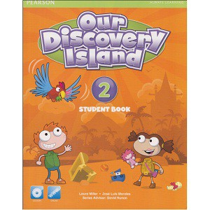 Bộ sách học tiếng Anh Our Discovery Island 2 (Trọn bộ 2 cuốn) (Kèm CD luyện nghe)