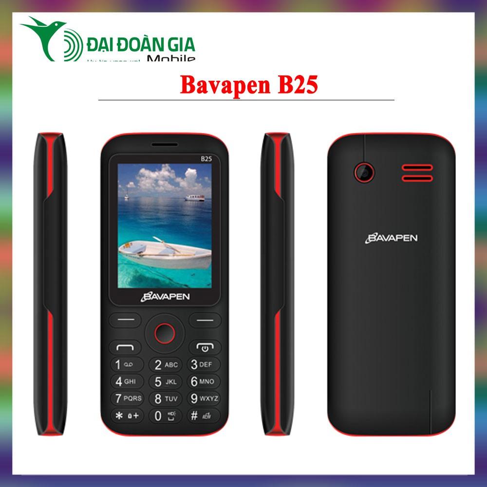 Điện thoại giá rẻ Bavapen B25 - Chức năng ghi âm cuộc gọi - 2 Sim 2 Sóng