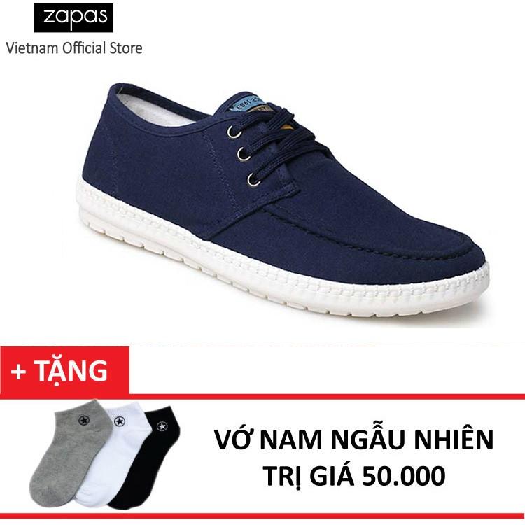 Giày Sneaker Thời Trang Nam Zapas GS060 ( Xanh ) + Tặng Vớ Nam - 10003154 , 215299156 , 322_215299156 , 359000 , Giay-Sneaker-Thoi-Trang-Nam-Zapas-GS060-Xanh-Tang-Vo-Nam-322_215299156 , shopee.vn , Giày Sneaker Thời Trang Nam Zapas GS060 ( Xanh ) + Tặng Vớ Nam