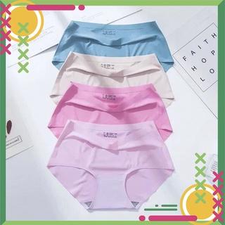 Quần chip nữ [QUÀ TẶNG 10K] Set 5 quần lót nữ su đúc không đường may hàng đẹp loại tốt,vải thun lạnh VT-41 VIỆT TIẾNUnde