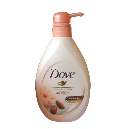 Sữa tắm dưỡng thể hạnh nhân và hoa Dove Nhật 380g-Chính hãng