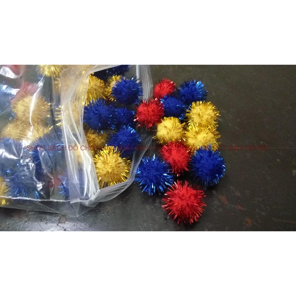 Pom pom kích thước 2cm có kim tuyến - 2635558 , 69234779 , 322_69234779 , 40000 , Pom-pom-kich-thuoc-2cm-co-kim-tuyen-322_69234779 , shopee.vn , Pom pom kích thước 2cm có kim tuyến