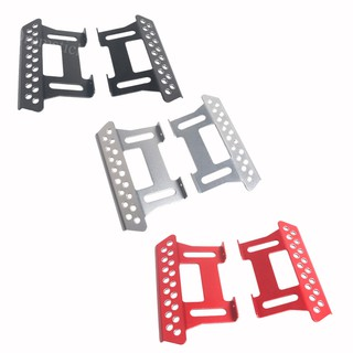 2Pcs Metal Pedal Plate For Axial Scx10 1:10 Scale Rc Crawler