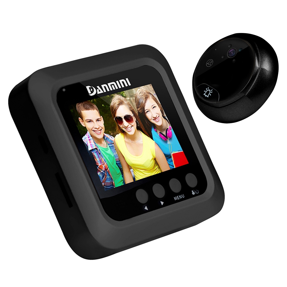 Home Smart Security DoorBell Night Vision Camera Door Visual Recording 2.4