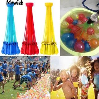 👶🏼3 Bunches 111Pcs Water Balloons Bombs Outdoor Party Garden Summer Fun Toys