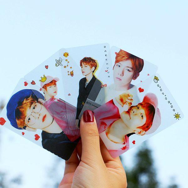 Bộ 5 card trong EXO-BTS dễ thương