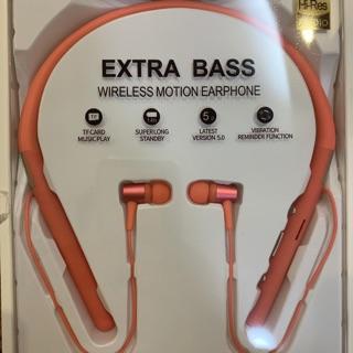 [Mã ELFLASH5 giảm 20K đơn 50K] Tai nghe Bluetooth thể thao đeo cổ Siêu bass hỗ trợ thẻ nhớ BH 6 tháng