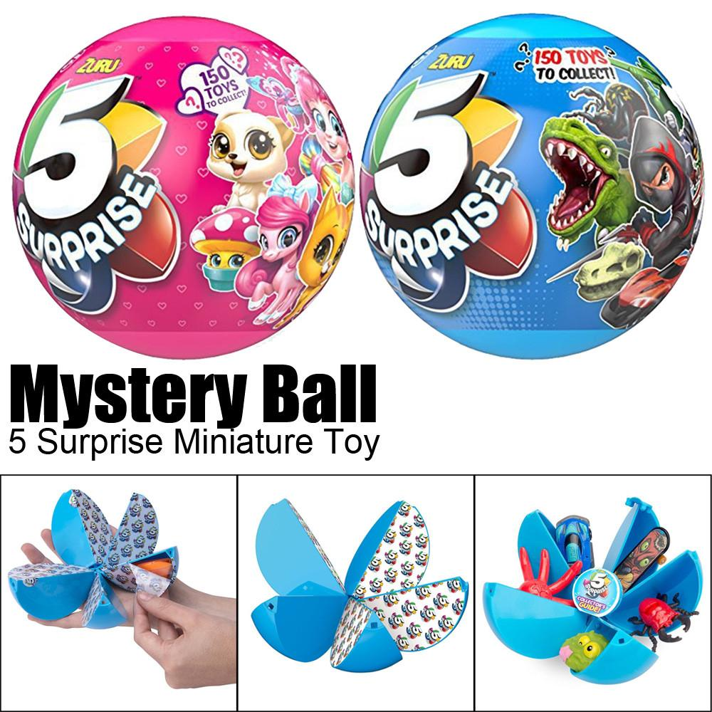 🐰Mystery Ball 5 Surprise Miniature Collectible Creative Toys Gifts ~🐰