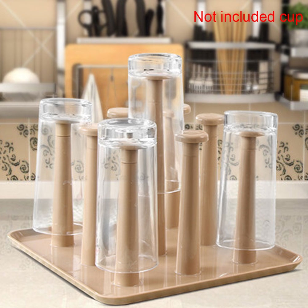 Tool PS Kitchen Drain Storage Eco-friendly Cylinder Cup Holder