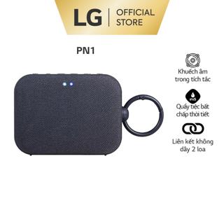 [Mã 158ELSALE hoàn 7% xu đơn 300K] Loa Bluetooth di động LG XBOOMGo PN1 – Hàng chính hãng