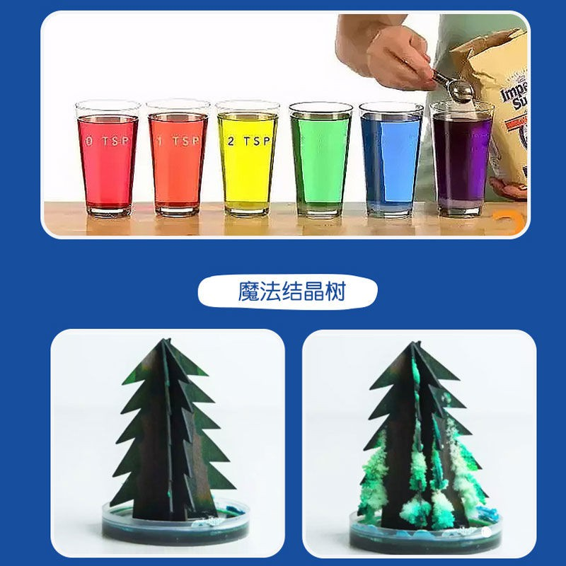 【happylife】Mars Pig Redzoo Screaming Science 1 Experimental Teaching Material Set Stem Toys Chemistry Material Pack for Young Students [Posted on...