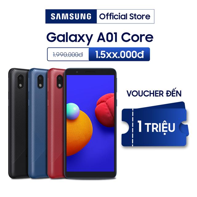 Điện Thoại Samsung Galaxy A01 Core (16GB/1GB) - Hàng Chính Hãng