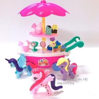Đồ chơi Quầy xe kem ngựa Pony