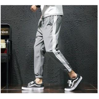 Quần Jogger kaki 3 sọc UNISEX siêu hot trend 2020