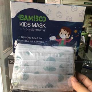 Khẩu trang y tế hộp 50 cái cho bé từ 1-4 tuổi
