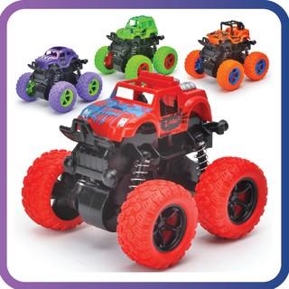 Xe o tô đồ chơi địa hình bánh to, xe quán tính nhiều màu sắc thumbnail