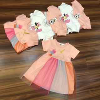 Váy bé gái Pony⚡️ CỰC❤️XINH ⚡️ Váy HM hình ngựa pony dễ thương size từ 2- 10 tuổi, chất cotton mềm đẹp dễ mặc