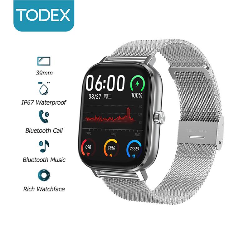 Đồng Hồ Đeo Tay Thông Minh TODEX DT35 Hỗ Trợ Cuộc Gọi Bluetooth Và Thể Thao Chống Nước IP67 Dành Cho IOS/ Android