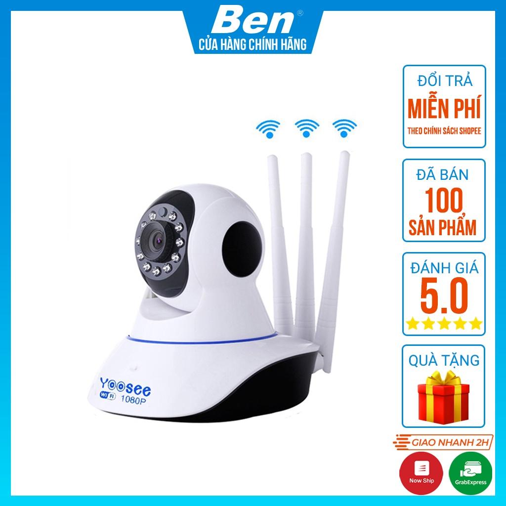 Camera Ip YooSee 3 Râu Full HD 1080p - BH12T - Hệ thống camera giám sát