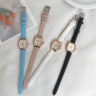 Đồng hồ thời trang nữ TAQIYA chính hãng, mặt oval cực đẹp, mẫu mới nhất, dây da êm tay ( Mã: TQY02 )