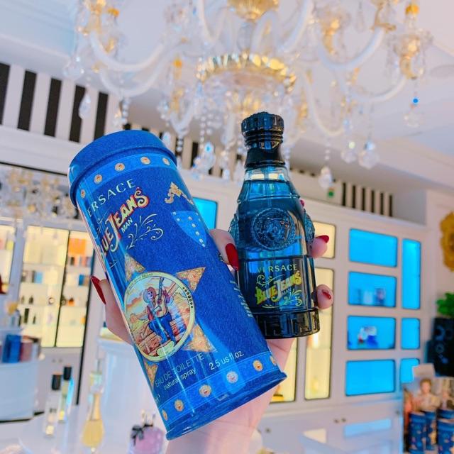 Chính hãng] Nước hoa VERSACE BLUE JEANS MAN | Shopee Việt Nam