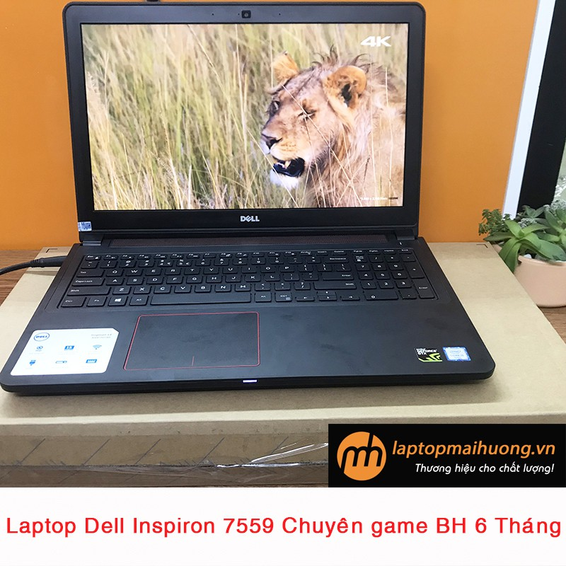 Laptop chơi game Dell Inspiron 7559 i5 core i5 6300HQ/ GTX 960M/ 4Gb/ 128Gb+ HDD 500Gb/ Full HD Giá chỉ 13.900.000₫