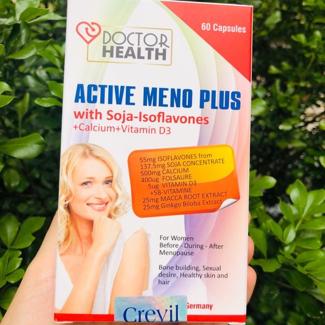 Active Meno Plus Hỗ Trợ Tiết Tố Cho Nữ hộp 30 viên