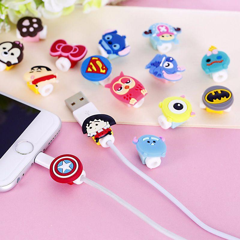 Phụ Kiện Bảo Vệ Chống Đứt Gãy Dây Sạc Cho Tai Nghe Bluetooth Không Dây Airpod i12 2 Pro Cáp Sạc Vỏ Case Ốp Lưng Iphone