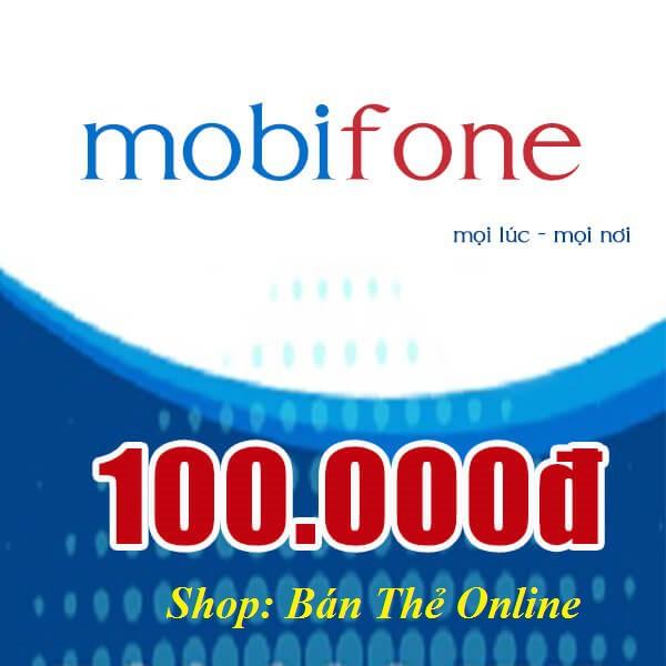 Mã thẻ Mobi 100K