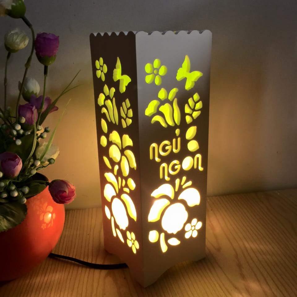 Đèn ngủ Handmade lãng mạn D29