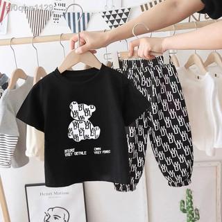 Áo phông ngắn tay trẻ em phong cách nước ngoài mùa hè 2021 quần áo trẻ em nam nữ mới quần áo trẻ em trung niên trẻ em hà thumbnail