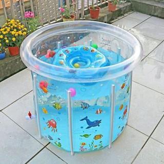 [FREE SHIP] Bể Bơi Phao Đứng Thành Cao 80x80cm Cho Bé ( Tặng Kèm Combo phụ kiện phao bơi, đồ chơi)