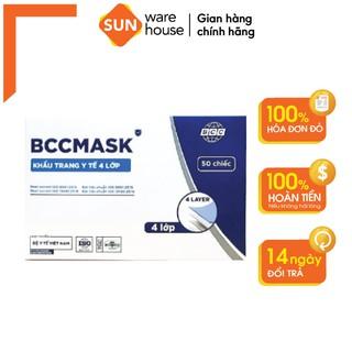 [ COMBO ƯU ĐÃI ] Khẩu Trang Y Tế BCC Mask Kháng Khuẩn, Bảo Vệ Sức Khoẻ thumbnail