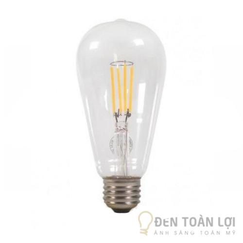 Bóng đèn: Bóng LED Edison T64 4W đui E27 Mã T64