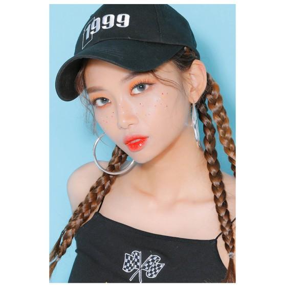 [Top bán chạy] Kính Áp Tròng Cận Thị Màu Bạc Touch Silver Pearl, Lens Mắt Đẹp Hàn Quốc Sử Dụng...