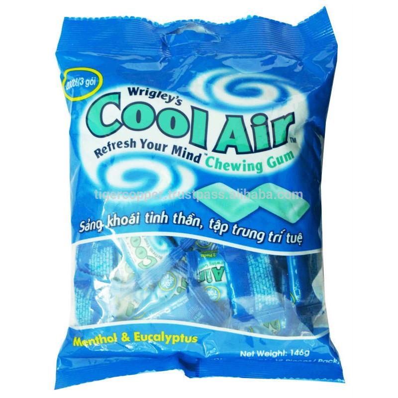 Kẹo gum hương bạc hà - khuynh diệp Cool Air Wrigley