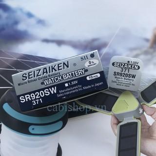 Pin Seizaiken SR920SW - SR920 - 920 - 371 - AG6 - LR920 Của Hãng Seiko - Pin Đồng Hồ Đeo Tay Chính Hãng thumbnail