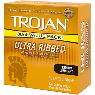 Bao cao su Trojan Ultra Ribbed thumbnail