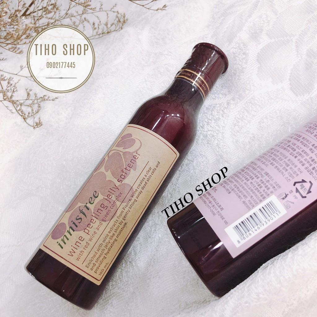 Tẩy Da Chết Gel Innisfree Wine Peeling Jelly Softener 180ml