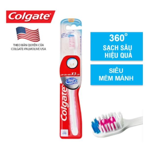 Bàn chải đánh răng Colgate 360 độ