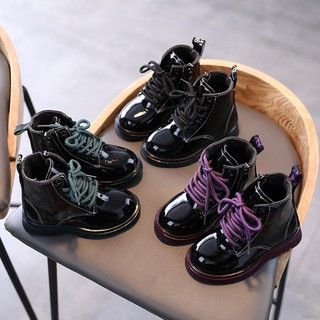 Giày bốt cổ cao thời trang năng động cho bé gái thumbnail